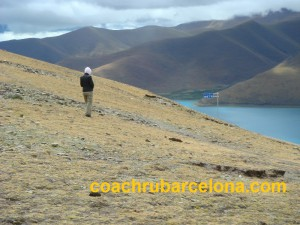 Ирина в Тибете, 2006г. Шелкните на фото для полного размера!