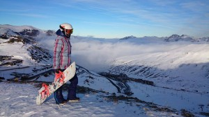 Юлия Солодкевич, инструктор по сноуборду